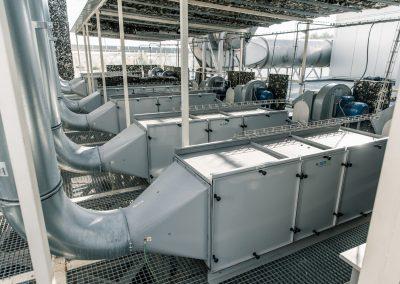 Vafo systém Aerox samostatný vývod pro každý zdroj vzdušniny